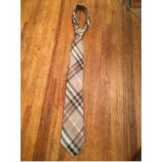 Burberry Smoked Check Tie